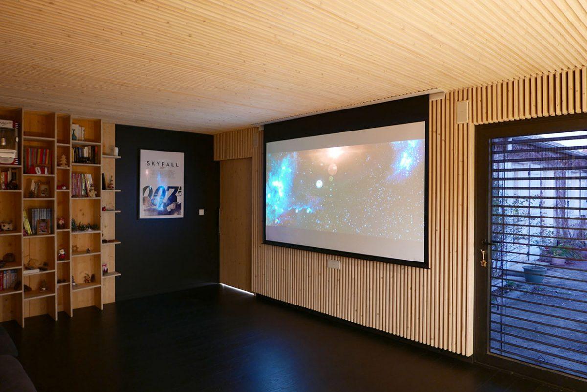 Salle home cinéma